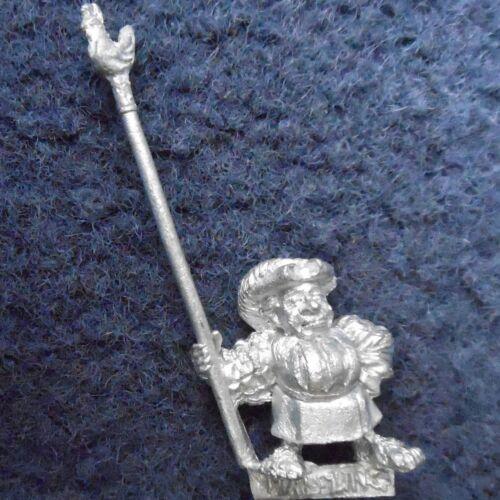 1992 HALFLING porte-étendard GAMES WORKSHOP CITADEL WARHAMMER EMPIRE IMPERIAL