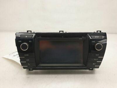 2014-2016 Toyota Corolla Touchscreen Display AM FM Radio Receiver OEM 100149
