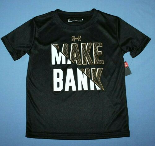 Details about  /BOYS UNDER ARMOUR T-SHIRT...HEAT-GEAR//POLY STAYS COOL//DRY...NEW//TAGS...FREE SHIP
