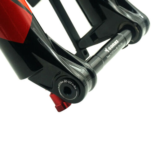 15*110mm Fahrrad Vordergabel Steckachse Spieß MTB Rennrad//Rahmen Für Rock Shox