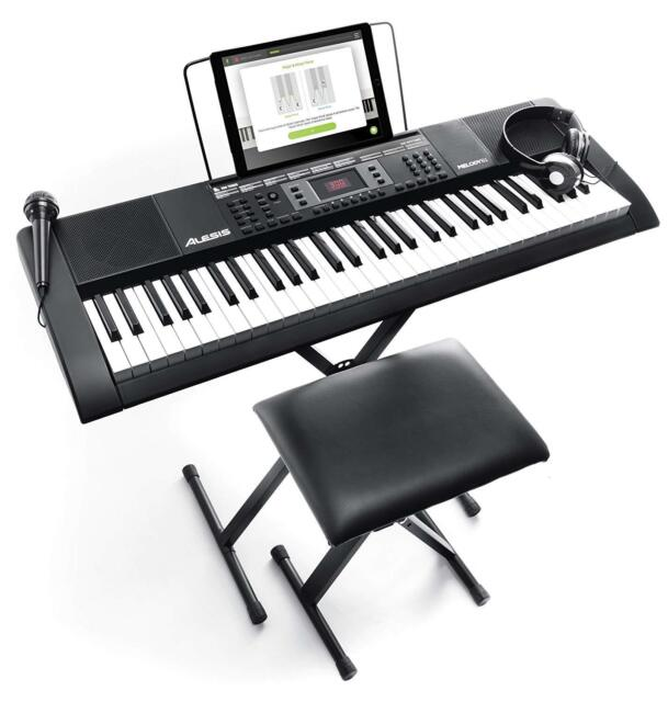 Keyboard CAlesis Melody 61 MKII Instrument Hocker Stativ Musik schwarz OVP fehlt