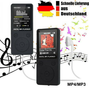 32GB MP3 Player HIFI Digital Musikspieler 1,8'' LCD Display FM Radio