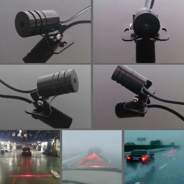 Car Anti Rear-End Crash Caution Tail Fog Driving Laser RED Laser Beam light Lamp