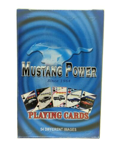 Ford Mustang Playing Cards
