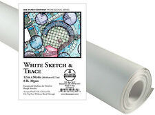 White Color Pro Art 18-Inch by 50-Yards Tracing sketch paper Roll