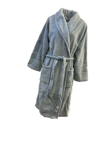 Ex Branded Mens Super Soft Dressing Gown Robe Size M XL