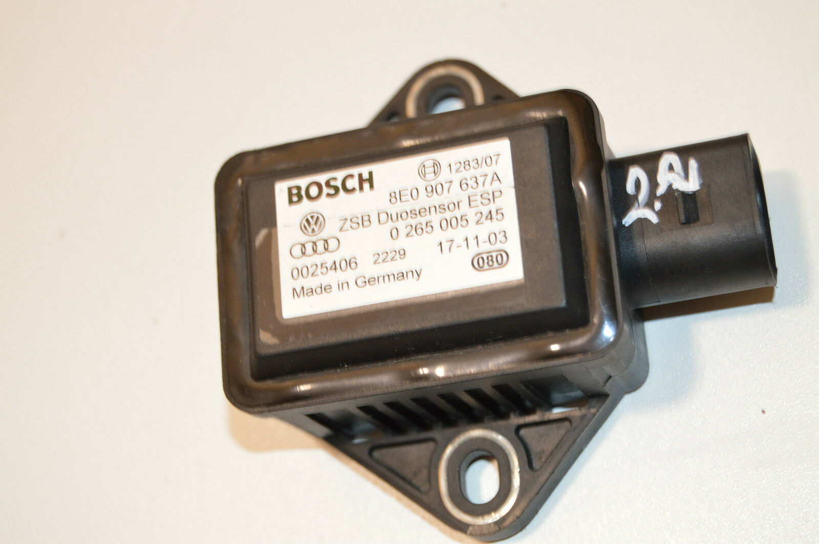 Generalüberholter ESP Duo-Sensor AUDI RS4 RS6 S8 8E0907637A 0265005245 G419