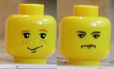 LEGO HARRY POTTER RON WEASLEY/CRABBE DUEL HEAD NEW