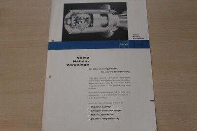 Ausdrucksvoll 179092) Volvo Lkw - Nabenvorgelege - Prospekt 05/1963 Volumen Groß