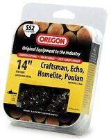 Oregon 14-inch Chain Saw Chain Fits Craftsman, Echo, Homelite, Poulan, S52, on sale
