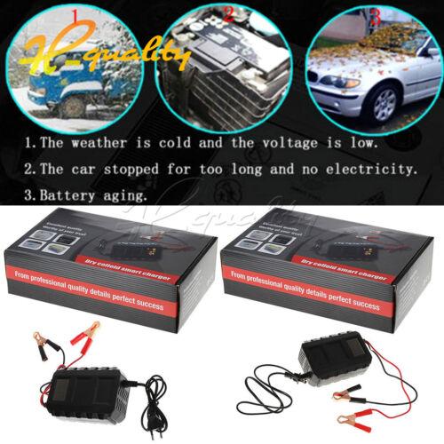 DC 12V 20A Smart Lead Acid Battery Charger Car Motorcycle US//EU Plug