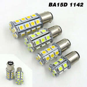 1x BA15S 1141 1156 LED Car Boat bulb light 12V 24-5050 SMD LED 3.5W White 6500K