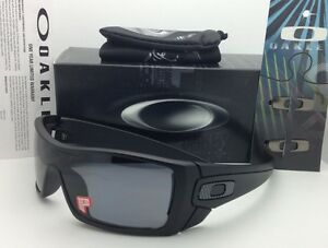 6b186455bfc Image is loading New-OAKLEY-Sunglasses-BATWOLF-OO9101-04-Matte-Black-