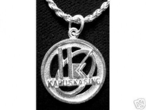 KAPUSKASING Pendant Charm Sterling Silver Jewelry