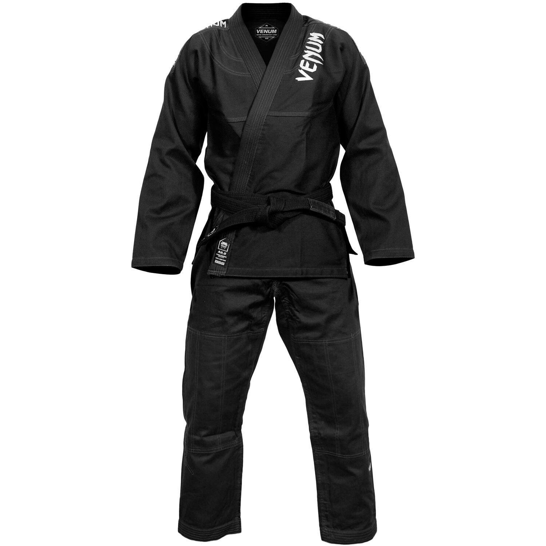 Venum Contender 2:0 Bjj Gi Nero Uniforme Arti Marziali Ju Jitsu Ideale Jiu