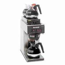bunn pourover coffee brewer with 3 warmers vp-17 13300 0004
