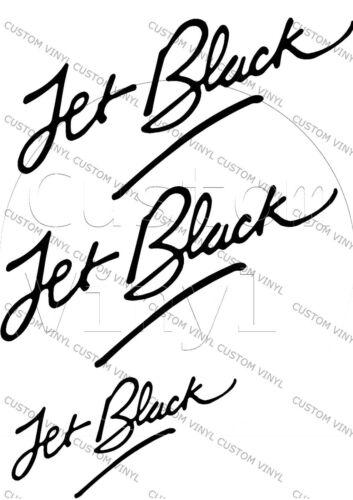 Classic Mini Jet Black Decal Pack Mini Cooper Classic 3 Decals