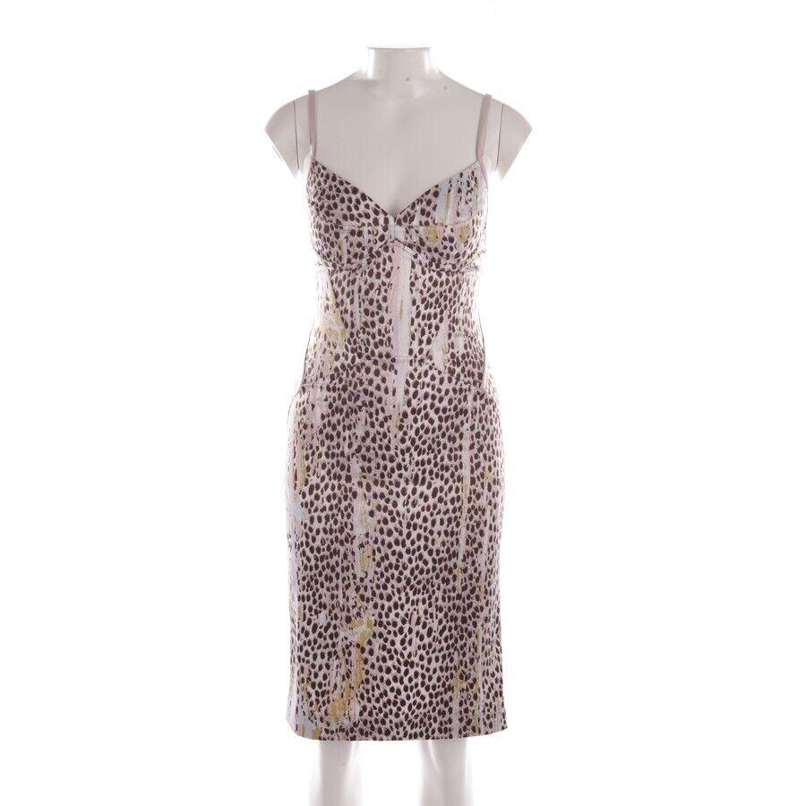 JUST CAVALLI Kleid Gr. 34 IT 40 MultiFarbe Damen Kleid Dress Robe Stretchkleid