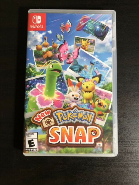 New Pokemon Snap - Nintendo Switch - Used, Comes with Cartridge And Box