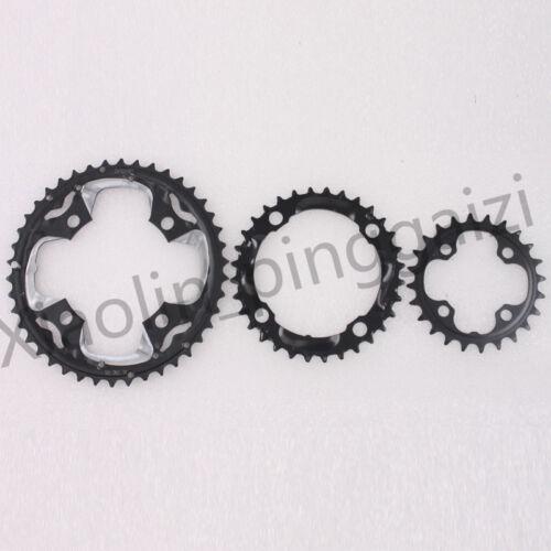 MTB Bike Crankset BB Triple 10 Speed Chainset 104//64mm BCD 24//32//42T Chainring