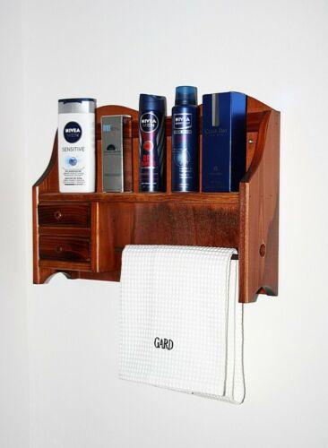Solid Wood Kitchen Shelf Cherry Colours New Towel Holder Spice Shelf Floating Shelf