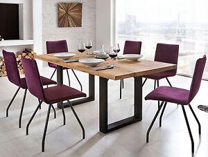 Standard furniture quebec massivholz esstisch holztisch for Esstisch massivholz metallgestell