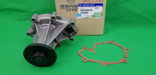 GASKET SET GENUINE SSANGYONG REXTON 2.7 L TD WATER PUMP BEARING HOUSING ASSY