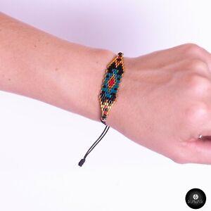 Kavak - Handmade Miyuki Abstract Adjustable Women's Bracelet