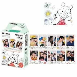 10 sheet Fuji Fujifilm Instax Mini Film Winnie For 8 9 25 90 Instant Camera SP-1
