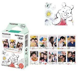 10 sheet Fuji Fujifilm Instax Mini Film Winnie For 8 9 25 90 Instant Camera SP-1