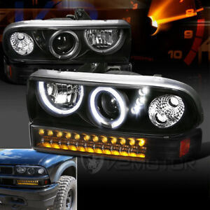 Image Is Loading 1998 2004 Chevy S10 Blazer Halo Led Black