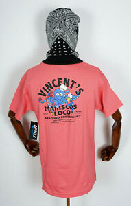 Lakai-Footwear-Skate-Schuhe-Shoes-T-Shirt-Tee-Vincents-Mariscos-Coral-in-M