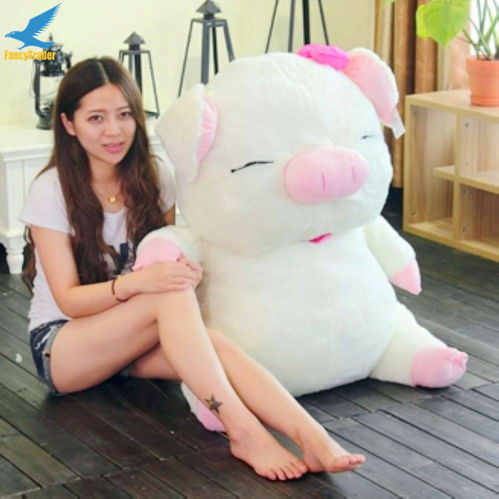 110cm Giant Cute Pig Toy Plush Soft Large Animal Stuffed Doll Kid Birthday Gift