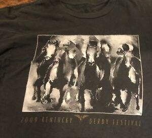 Kentucky-Derby-Fedtival-T-Shirt-2009-Large