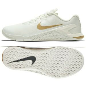 1a7d963c01af6 Nike WMNS Metcon 4 Champagne AV2141-120 Sail/Gold Women CrossFit ...