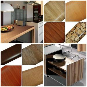 Details zu 14€/m² Möbelfolie Selbstklebefolie Holzoptik Fototapete  Klebefolie Küche Tür