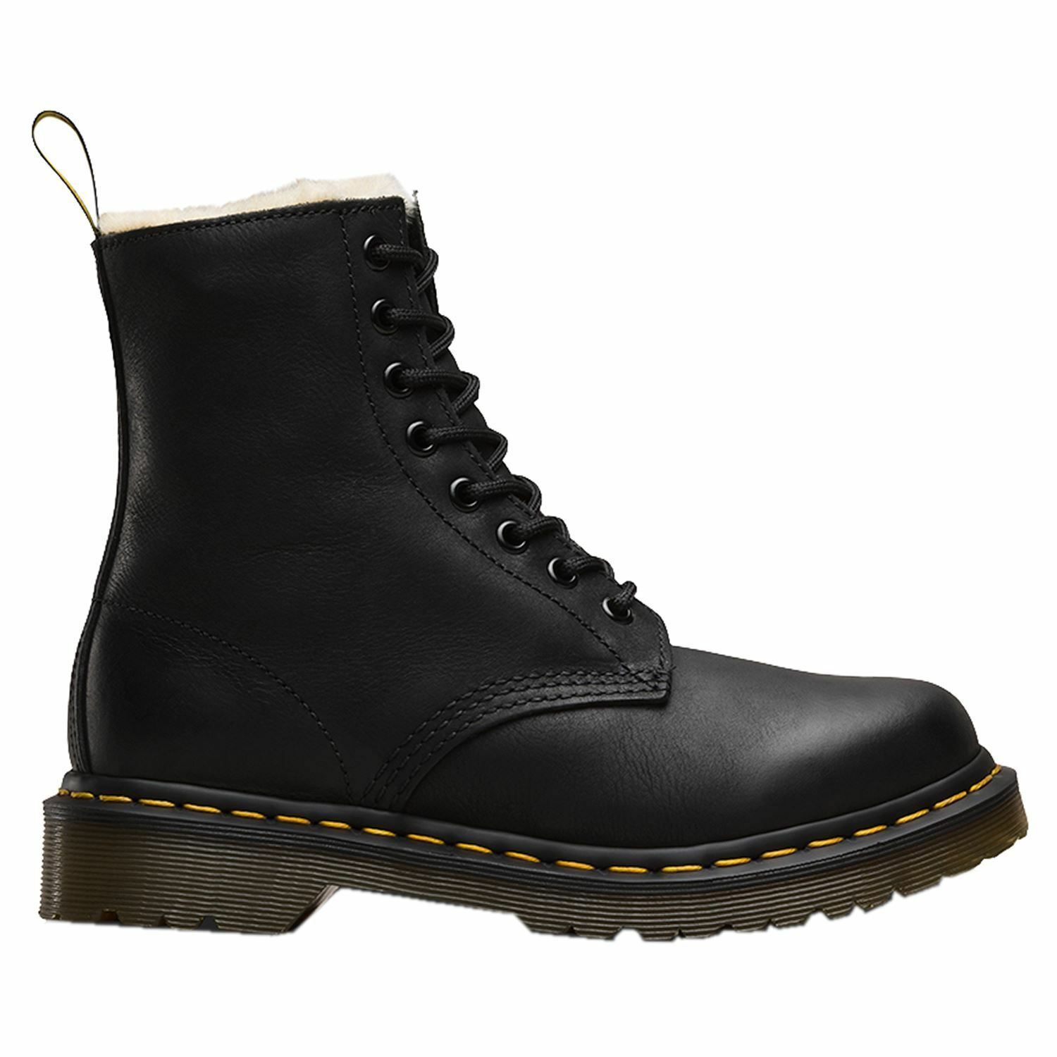 Grandes zapatos con descuento Dr.Martens Serena Burnished Woyming Black Womens Boots