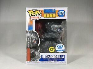 Funko Pop Glow 1076 Mechagodzilla Funko Shop Exclusive Godzilla vs Kong