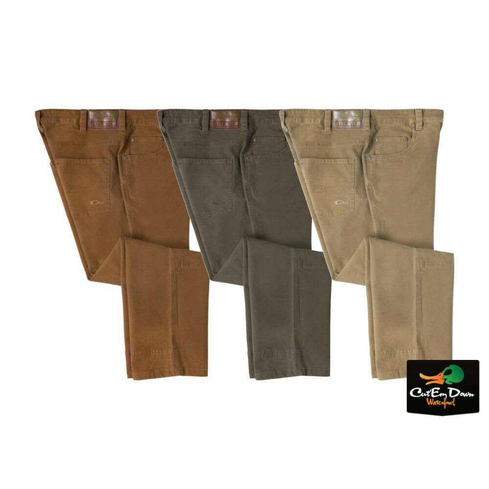 NEW  DRAKE WATERFOWL SYSTEMS CANVAS PANTS  authentic online