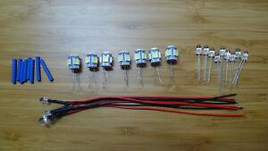 26-x-LED-Lamps-kenwood-eleven-I-II-lll-GX-lamp-bulb-lights-FULL-SET-EXTRAS