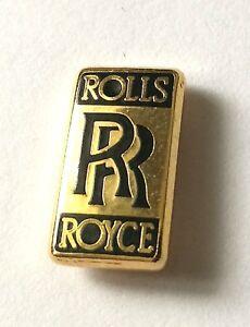 ROLLS-ROYCE-TIE-TACK-ENAMEL-LAPEL-PIN-BADGE-CAP-BADGE