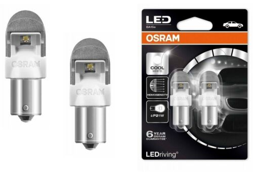 OSRAM Premium lampadine LED 382 6000K Cool Bianco P21W BA15s 12V 7556CW-02B