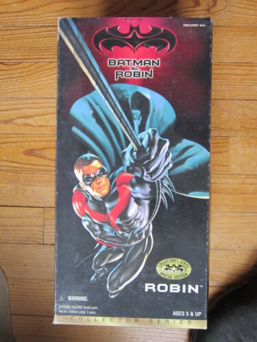 Action- & Spielfiguren 1/6 12 30cm ROBIN KENNER 1997 neu in Originalverpackung MIB BATMAN & robin