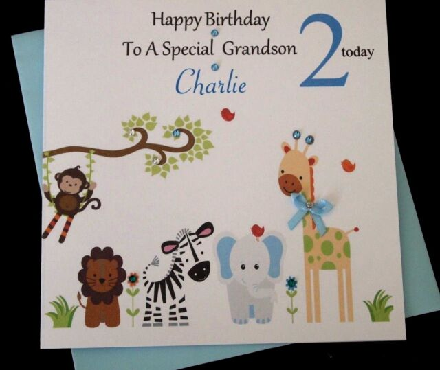Personalised 2nd Birthday Card Itravelpages