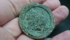 Stunning very rare Bronze Votive mirror Uncleaned condition County Durham L275
