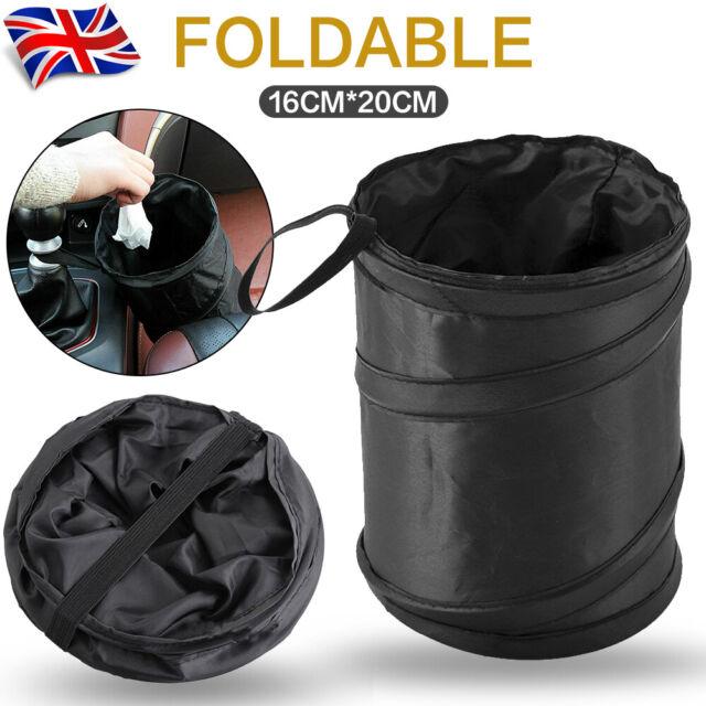 Small Bin Car Trash Garbage Rubbish Hanging Collapsible Foldable Waste