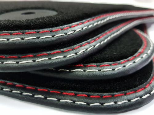 Fußmatten für Alfa Romeo 166 98-07 Original Qualität Velours Doppelnaht Matten