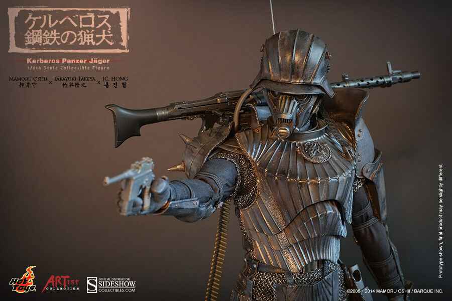 1 6 Scale Kerberos Panzer Jager Artist Collection Hot Toys Used