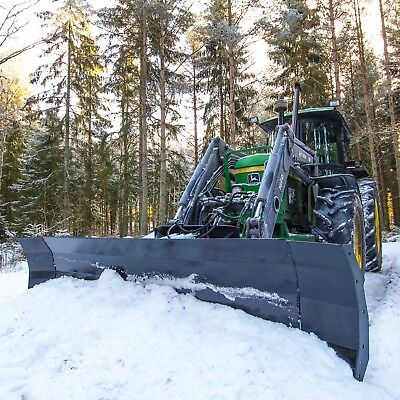Kellfri Hydraulically Adjustable Snow Plough Blade 2.5mtr Euro/trima £1150+vat Promote The Production Of Body Fluid And Saliva Heavy Equipment Attachments