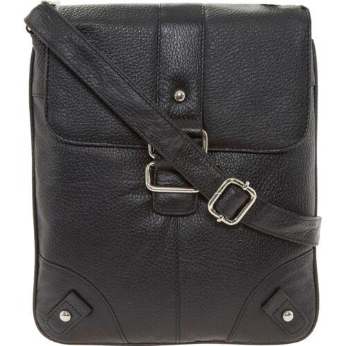 Bag Point Leather Black Across Body Red RfXxwFqSw